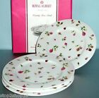 Royal Albert Country Rose Buds Salad Dessert Plate Set of 4 New In Box