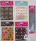 U CHOOSE Assorted Jolees ALL THAT BLING 3D Stickers flowers studs borders gems