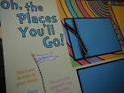 Dr Seuss Oh the Places Youll Go Quote Premade 12x12 Scrapbook Pages