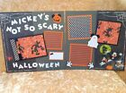 Premade Scrapbook 2 Page Layout DISNEY MICKEYS NOT SO SCARY HALLOWEEN