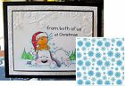 Let It Snow embossing folder Crafters Companion embossing folders snowflake