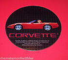 Bally CORVETTE Original Pinball Machine NOS Plastic Promo Coaster New Style Car