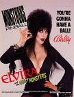 1989 BALLY ELVIRA AND THE PARTY MONSTERS PINBALL FLYER