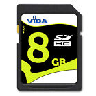 New VIDA 8GB SD SDHC Memory Card High Speed Class 10 UHS 1 For Panasonic HC X800