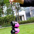 Pink Girl Binoculars Travelling Sport Telescope Christmas Toy for Childrens US