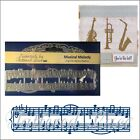 Musical Melody metal die Tattered Lace Cutting Dies ETL529 staff notes
