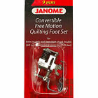 Janome Convertible Free Motion Quilting Foot Set #202146001 For High Shank Model