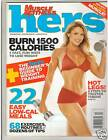 Muscle  Fitness Hers Female Bodybuilding Mag Biggest Loser Kim Lyons 10 04