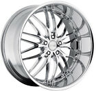 22 MRR GT1 Chrome Wheels For BMW E65 E66 745 750 760 7 Series 22 Inch Rims Set