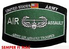 US ARMY AIR ASSAULT HAT PATCH FORT CAMPBELL PIN UP GIFT 101ST AIRBORNE DIVISION