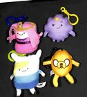 Adventure Time Plush Clip Keychain Hangers 4 Different Neat