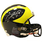 Desmond Howard Autographed Inscribed Michigan Wolverines Full Size Replica Helm