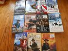 LOT OF 11 WILLIAM AND J A JOHNSTONE WESTERN PAPERBACKS ALL GREAT