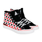 HUF Classic Hi X Chocolate Mens Multi Color Canvas High Top Sneakers Shoes