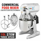 10 QT FOOD DOUGH MIXER BLENDER 0.5HP 3 SPEED CATERING KITCHEN HEAVY DUTY ON SALE