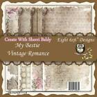 NEW My Besties SCRAPBOOK CARD PAPER PACK SET 6 X 6 VINTAGE ROMANCE free us ship