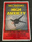 HIGH ANXIETY Original One Sheet Poster 1977 Mel Brooks VG Condition