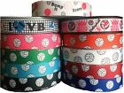 5 Yards 7 8 BUMP SET SPIKE GAME SPORTS VOLLEYBALL GROSGRAIN RIBBON U PICK