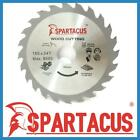 Spartacus Wood Cutting Saw Blade 165 mm x 24 Teeth x 30mm Fits Various Models