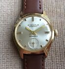 Kienzle Merkant Watch 1950s Gold Plated Superb Condition Serviced