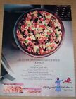 1988 print ad page Weight Watchers frozen Pizza Lynn Redgrave vintage ADVERT