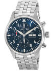 New IWC Pilot's Chronograph Le Petit Prince Limited Steel Men's Watch IW377717