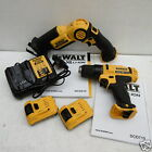 DEWALT 10.8V DCS310 MINI RECIP SAW & DCD710 DRILL DRIVER 2 AH XR LI-ON + CASES