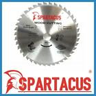 Spartacus Wood Cutting Saw Blade 250 mm x 40 Teeth x 30mm Fits Various Models
