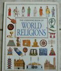 Usborne Book of WORLD RELIGIONS GREAT PB 1995 Full colorpacked w info