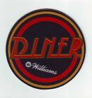 DINER By Williams 1990 ORIGINAL NOS PINBALL MACHINE Promo Large SPEAKER COASTER