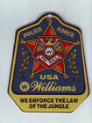 POLICE FORCE By WILLIAMS 1989 ORIGINAL PINBALL MACHINE PROMO PLASTIC BADGE