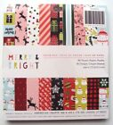 American Crafts Single Sided Paper Pad 6X 6 36 Pkg Merry  Bright