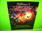 Williams F-14 Tomcat Original 1987 Flipper Game Pinball Machine Promo Sale Flyer