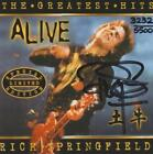Rick Springfield: The Greatest Hits Alive #3232 2-Disc SIGNED MUSIC AUDIO CD
