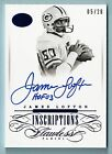 JAMES LOFTON 2015 FLAWLESS GREATS BLUE AUTOGRAPH AUTO 20