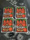Vintage Mello Smellos Scratch And Smell Orange Soda Stickers NOS