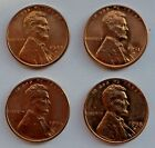 LOT OF (4) BU LINCOLN WHEAT CENTS - 1944D, 1951D, 1954S and 1958D