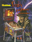 1994 GOTTLIEB FREDDY A NIGHTMARE ON ELM STREET PINBALL FLYER