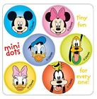 180 Mini Mickey Mouse Disney Pals Stickers Each 7 8 Round