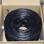 CAT6 1000FT UTP Cable Solid 23AWG 550MHz Network Ethernet Bulk Wire LAN Black