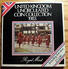 UK - 1983 UNCIRCULATED COIN COLLECTION IN FOLDER - ROYAL MINT. SEE PHOTOS