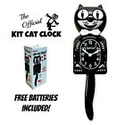 CLASSIC BLACK KIT CAT CLOCK 15.5