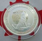 2017 Canada Wolf 3/4 oz .9999 Silver Coin in crystal clear airtite holder