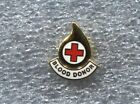 RED CROSS BLOOD DONOR PIN New