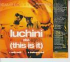 Camp Lo: Luchini AKA This Is It PROMO MUSIC AUDIO CD Edit Instrumental Profile