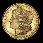 1878 S ~**TONED UNCIRCULATED**~ Silver Morgan Dollar Rare US Old Coin! #M11