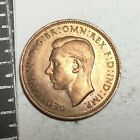 GREAT BRITAIN 1942 1/2 Penny coin nice about uncirculated
