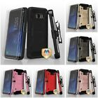 For Samsung Galaxy S8 Plus Heavy Duty DEFENDER Case With Clip Holster Defender