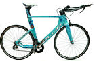 BLUE Triad EX Women's 57.5cm Carbon Time Trial Triathlon Bike SRAM Force 11s NEW