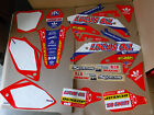 TEAM HONDA LUCAS OIL GRAPHICS & NUMBER PLATES CRF450 CRF450R 2005 2006 2007 2008